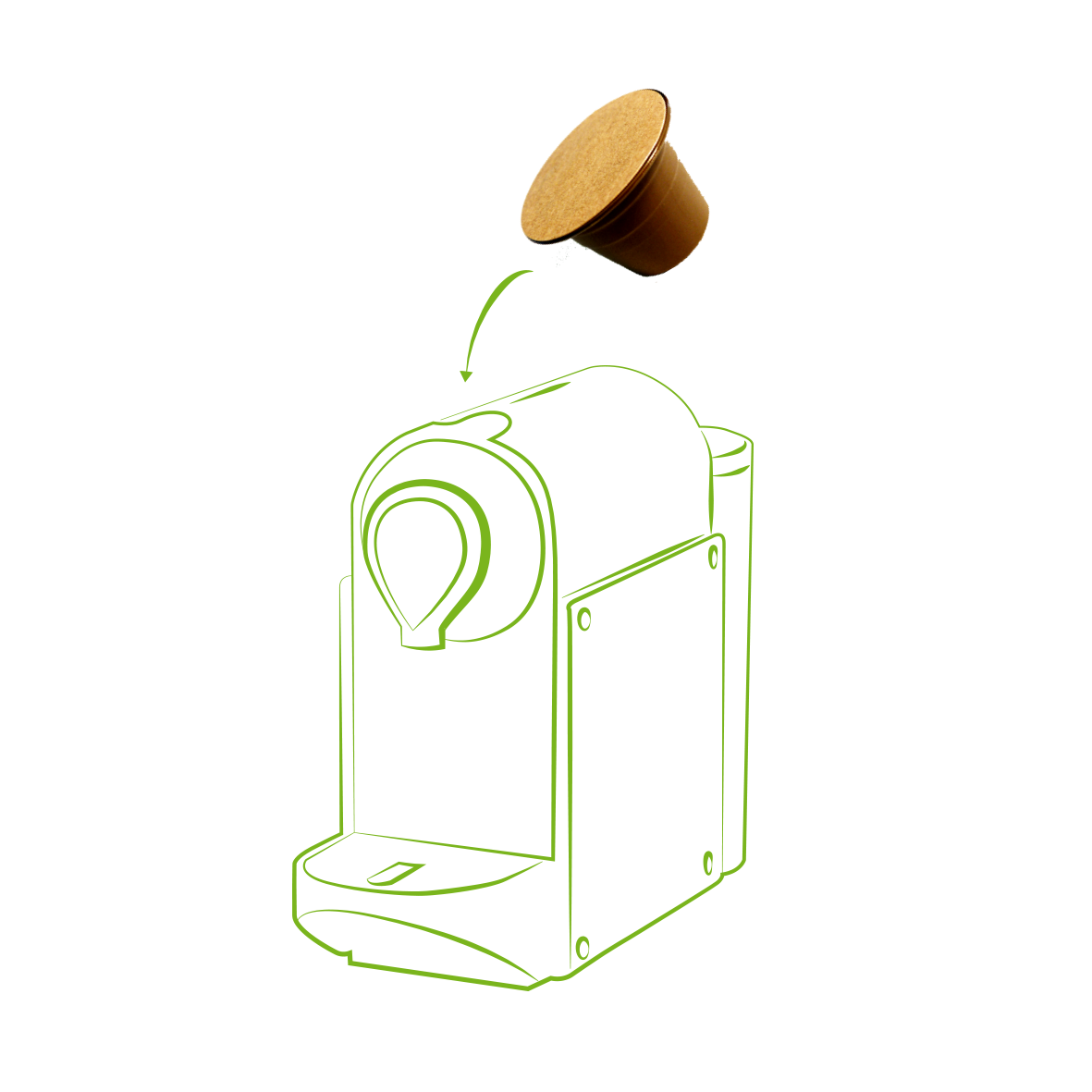 Ecocapsule compatible Nespresso