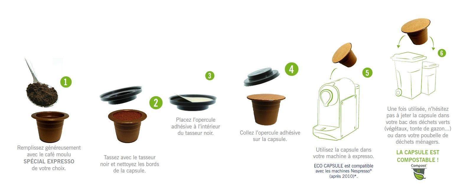 Mode d'emploi eco capsule